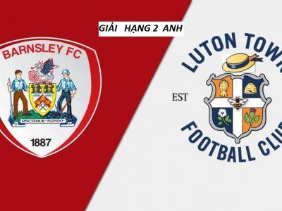 Đón xem trận tới đây giữa Barnsley vs Luton Town